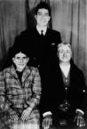 Con Simos and his parents, 1960.