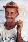 Christos Politis at his tsipura shack in Aloizianika