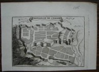 Fortification Plan of Kythera from ca. 1700