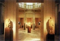 Inside the Benaki Museum.
