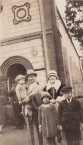 Bretos Margetis and family, outside Ayia Triatha, Surry Hills