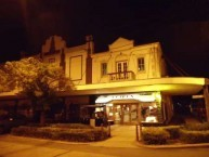 """The Roxy 'complex"""" and the Roxy Cafe look beautiful at night time"""