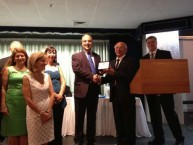 Presentation of a plaque from the Municipality of Kythera