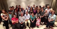 Michael and Carol Mallos hosted a large group of Logothetiani