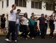 And there was Greek dancing on the main street of Manilla