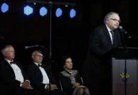 His Excellency Haris Dafaranos, The Ambassador for Greece speaking