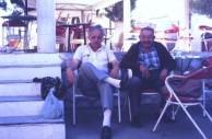 Stephen Zantiotis & Yianni Venardos - August 1984