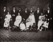 Bylos - Tzortzopoulos  Wedding group, Aug 1923