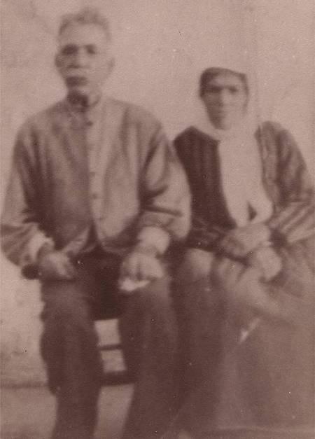 Theodore and Eleni Aronis  (Papadominakos)
