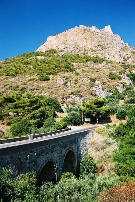 English bridge at Kapsali
