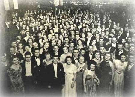 Greek Staff Ball held on the 6th of April in 1940 at the Mark Foyes ballroom.