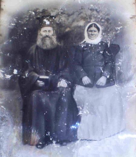 Aloizos grandparents. Mina & Argero Coroneos.