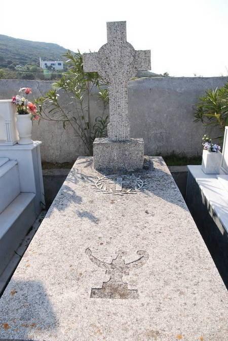 Gravestone, Drymonas Cemetery