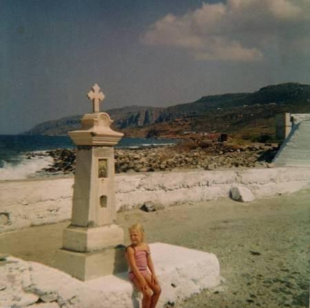 Agia Pelagia - pier 1971