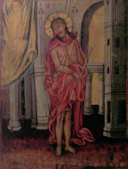 Icon from the Church of the Virgin Mary of Ilariotissa, Potamos.