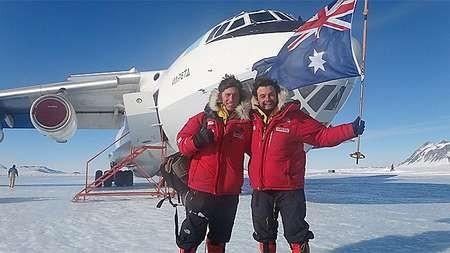 Intrepid pair discuss harsh realities of Antarctic trek