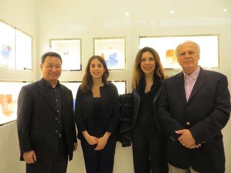 Masaaki Noda, Ms Fassianos, Mrs Fassianos and Takis Efsthiou
