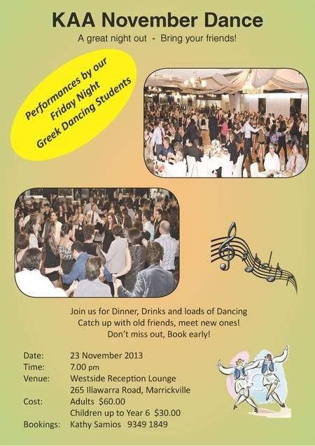 Kytherian Association of Australia November Dance