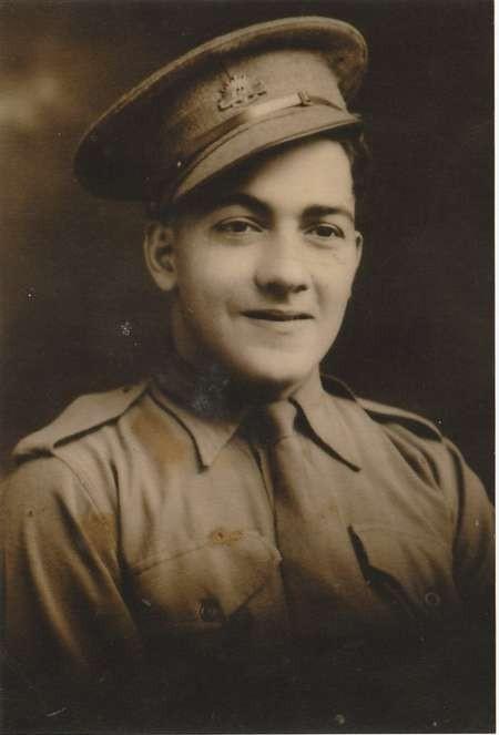 Emanuel Casimatis, in Australian army uniform