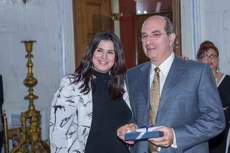 Professor Minas Coroneo receives award, for Kythera,