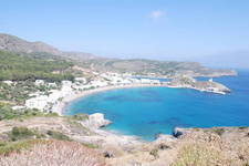 Anyone that has been to Kythera will know the beautiful views from Hora looking at Kapsali.